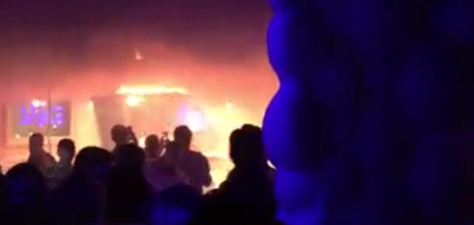 Пожежа у львівському клубі