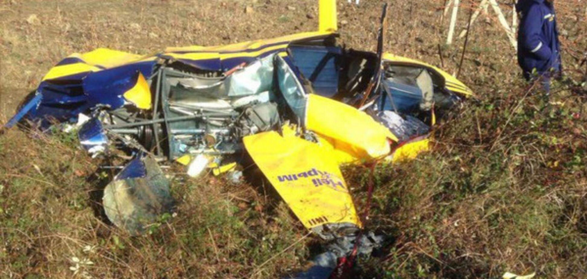 аварія вертольота