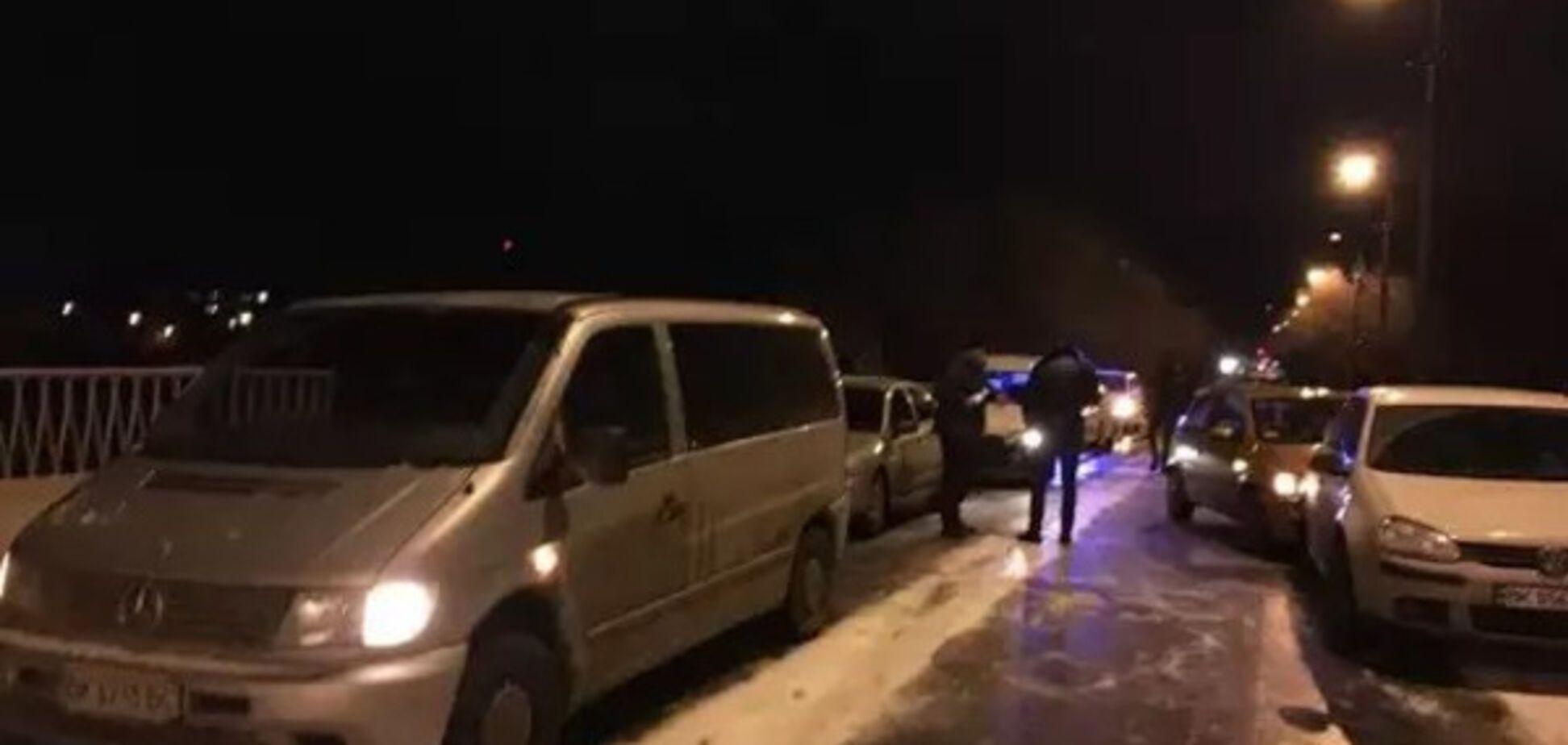 У Рівному зіткнулися 7 автомобілів