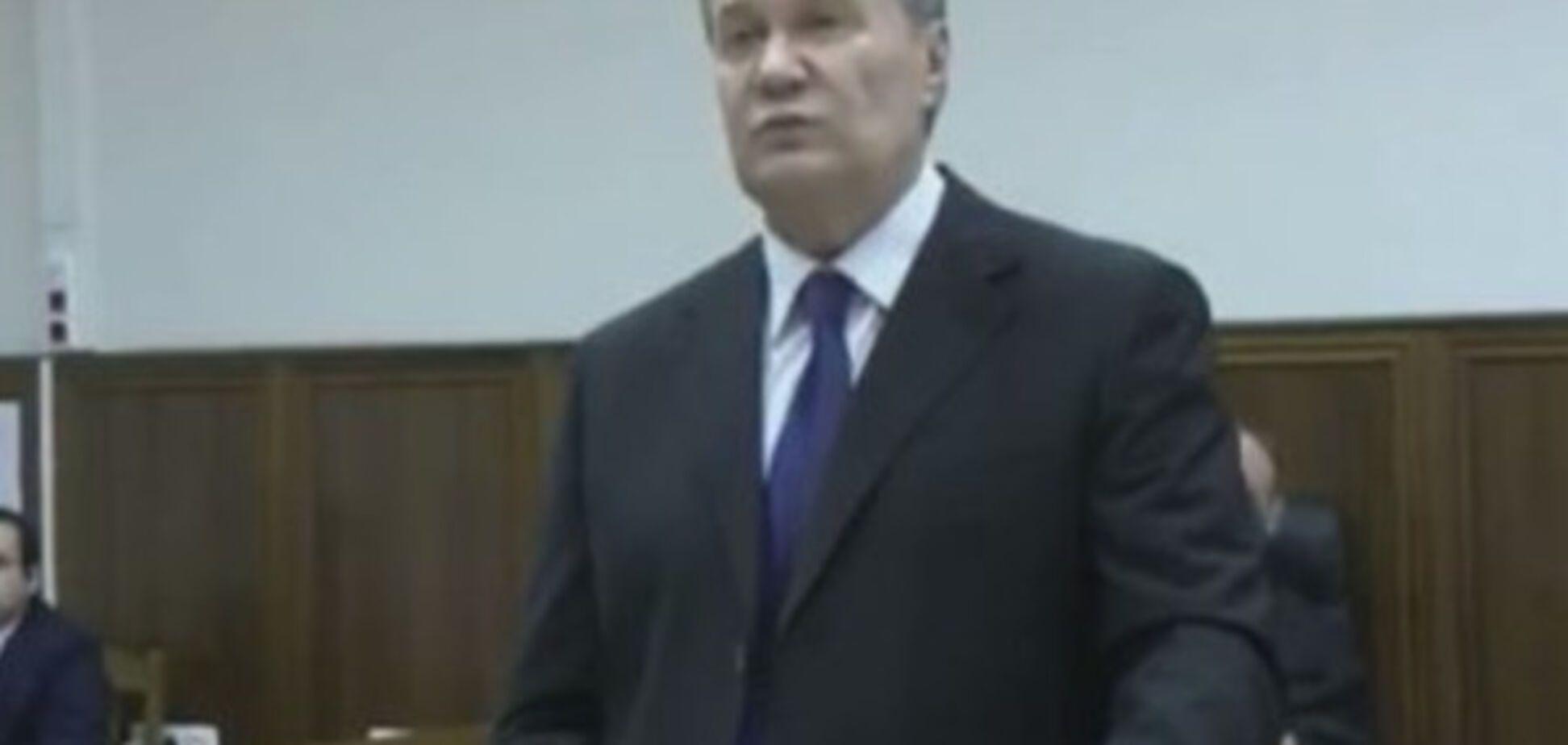 Янукович допит