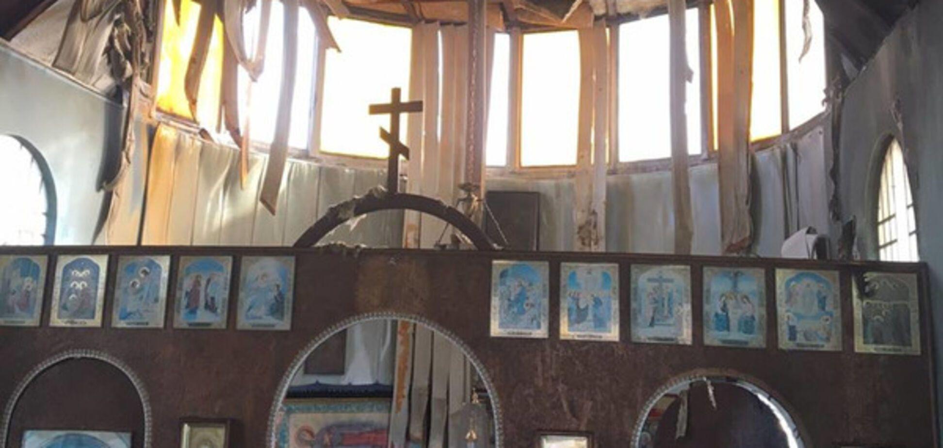 У Маріуполі вночі підпалили храм Київського патріархату