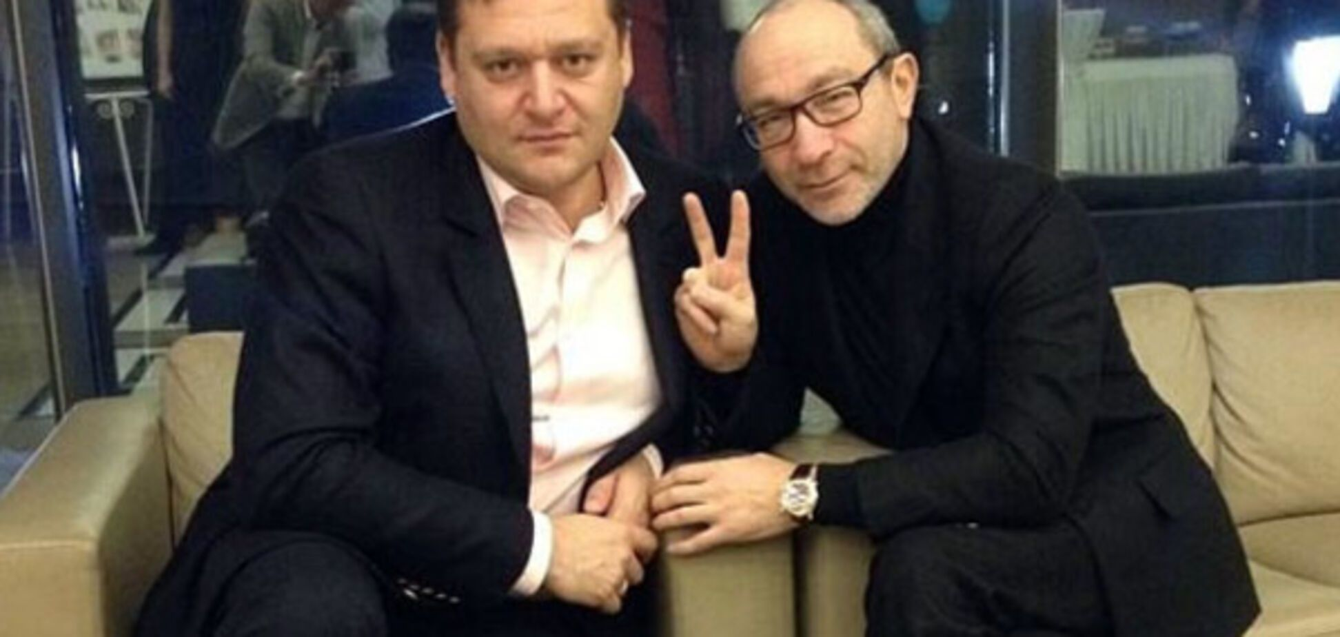 Михайло Добкін і Геннадій Кернес