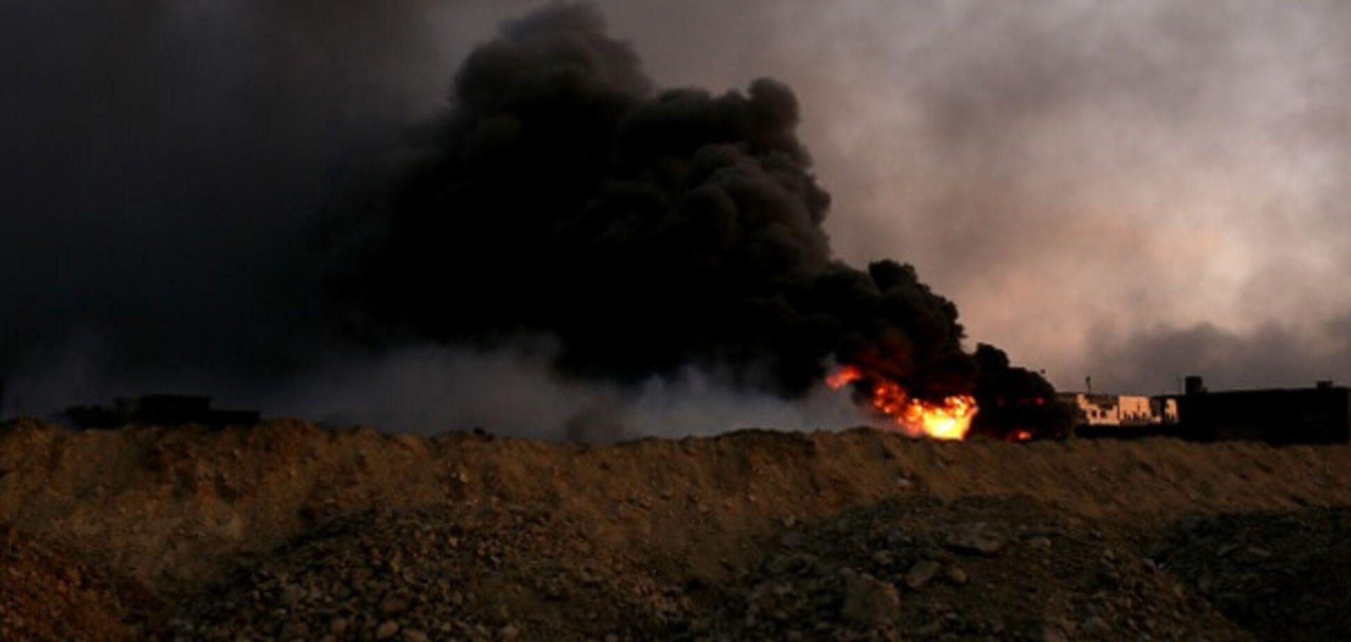 Пожежа на нафтових свердловинах