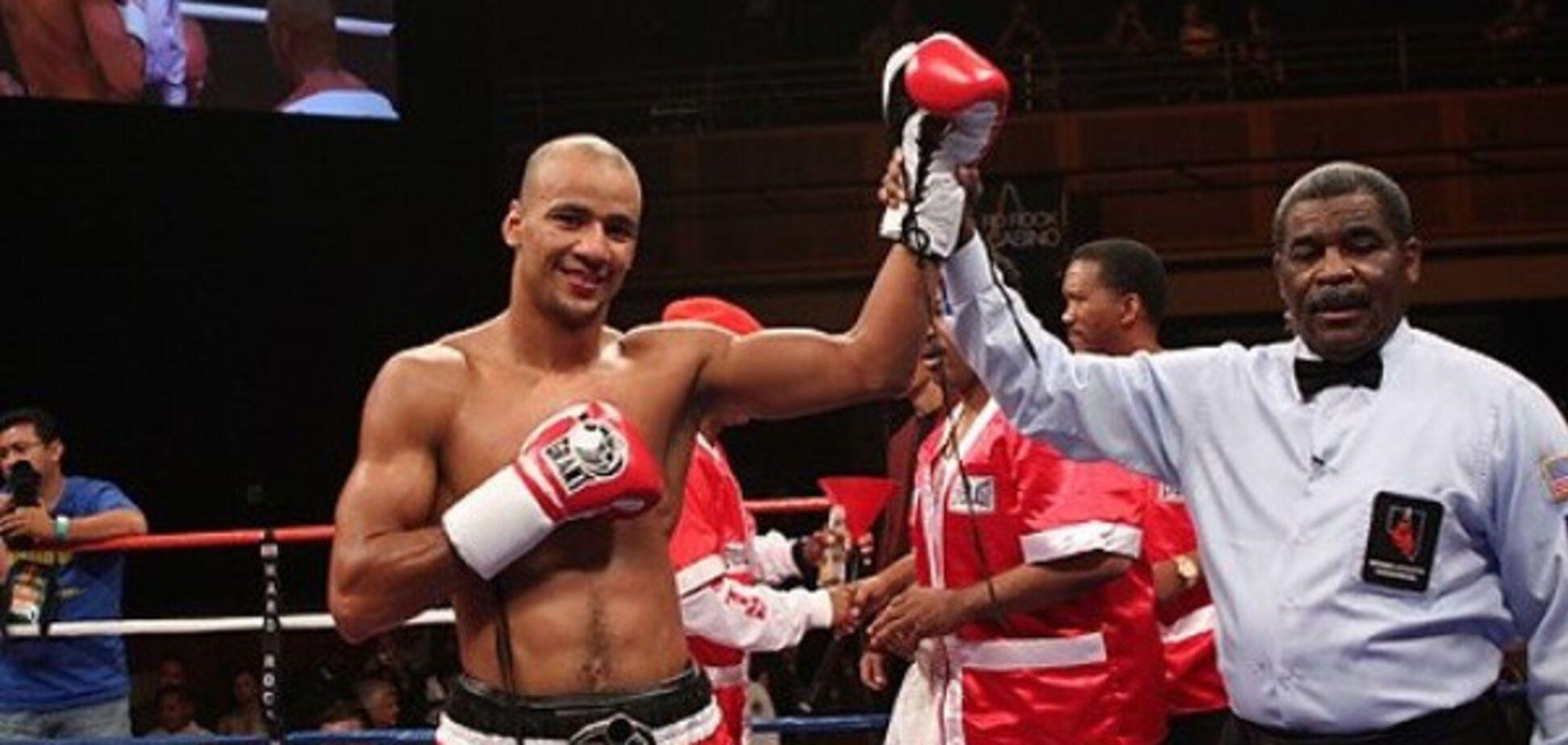 Известный украинский боксер нокаутировал американца в США