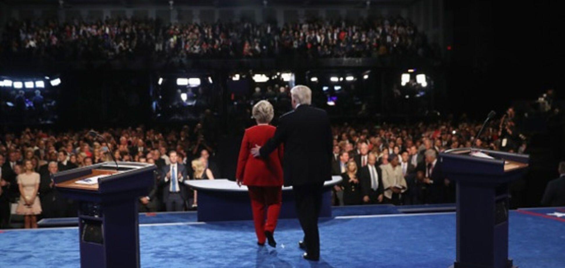 клинтон трамп дебаты