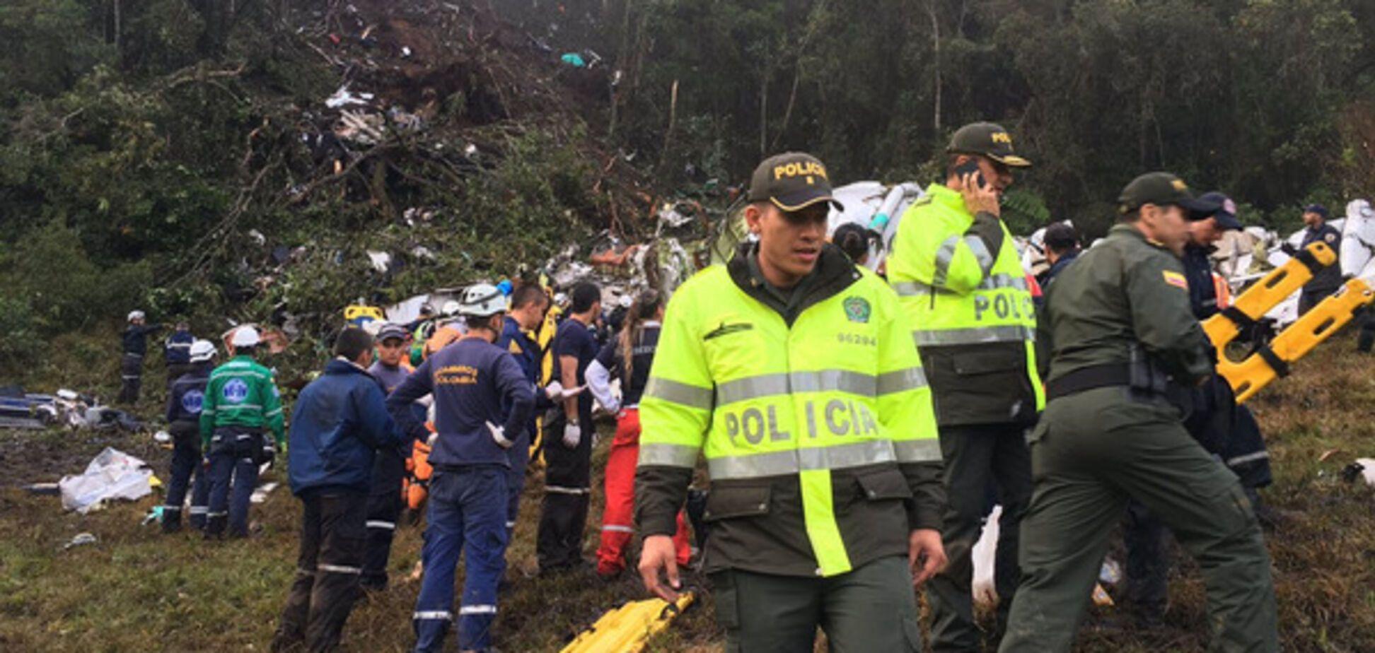 Крах у Колумбії