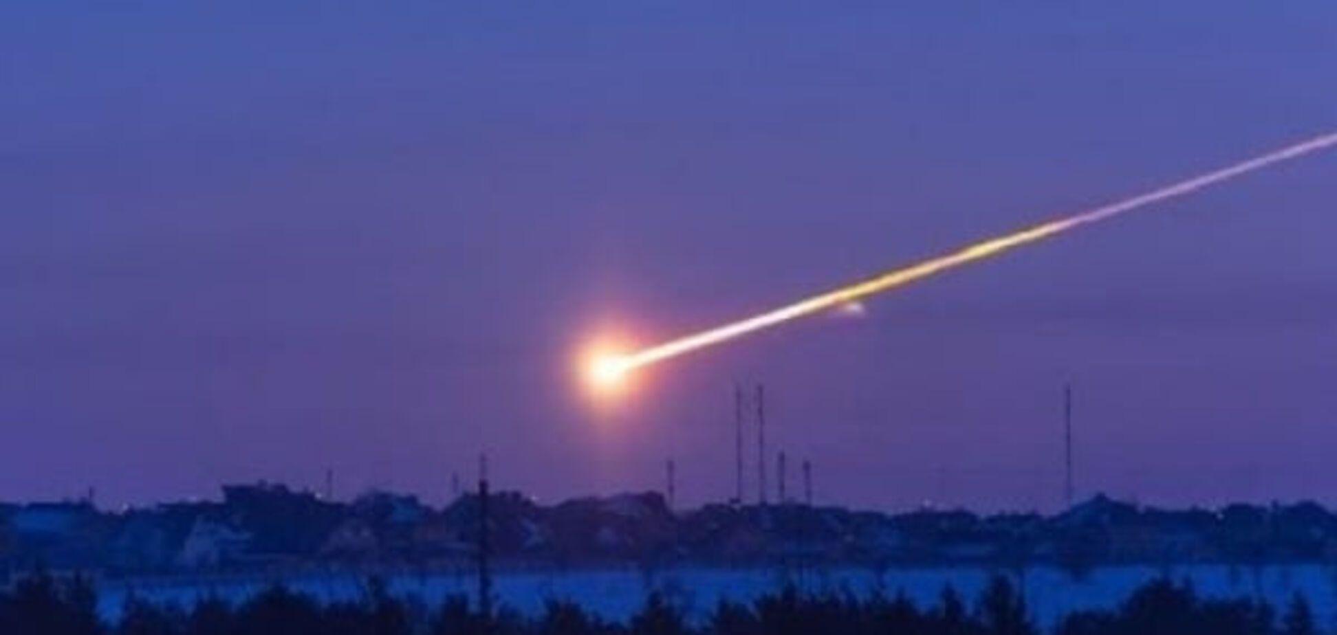 метеорит у Львові (ілюстрація)