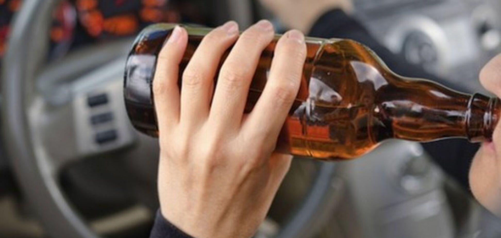 На Харківщині піймали п'яного за кермом із бензопилою