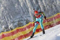 Кубок світу з біатлону Україна бронза