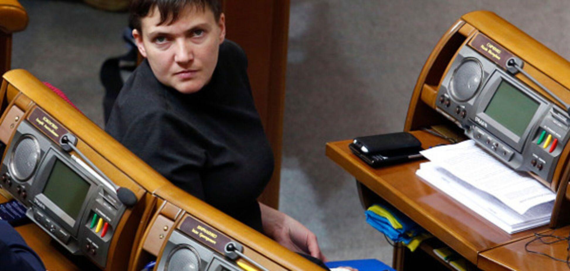 Надія Савченко в Раді