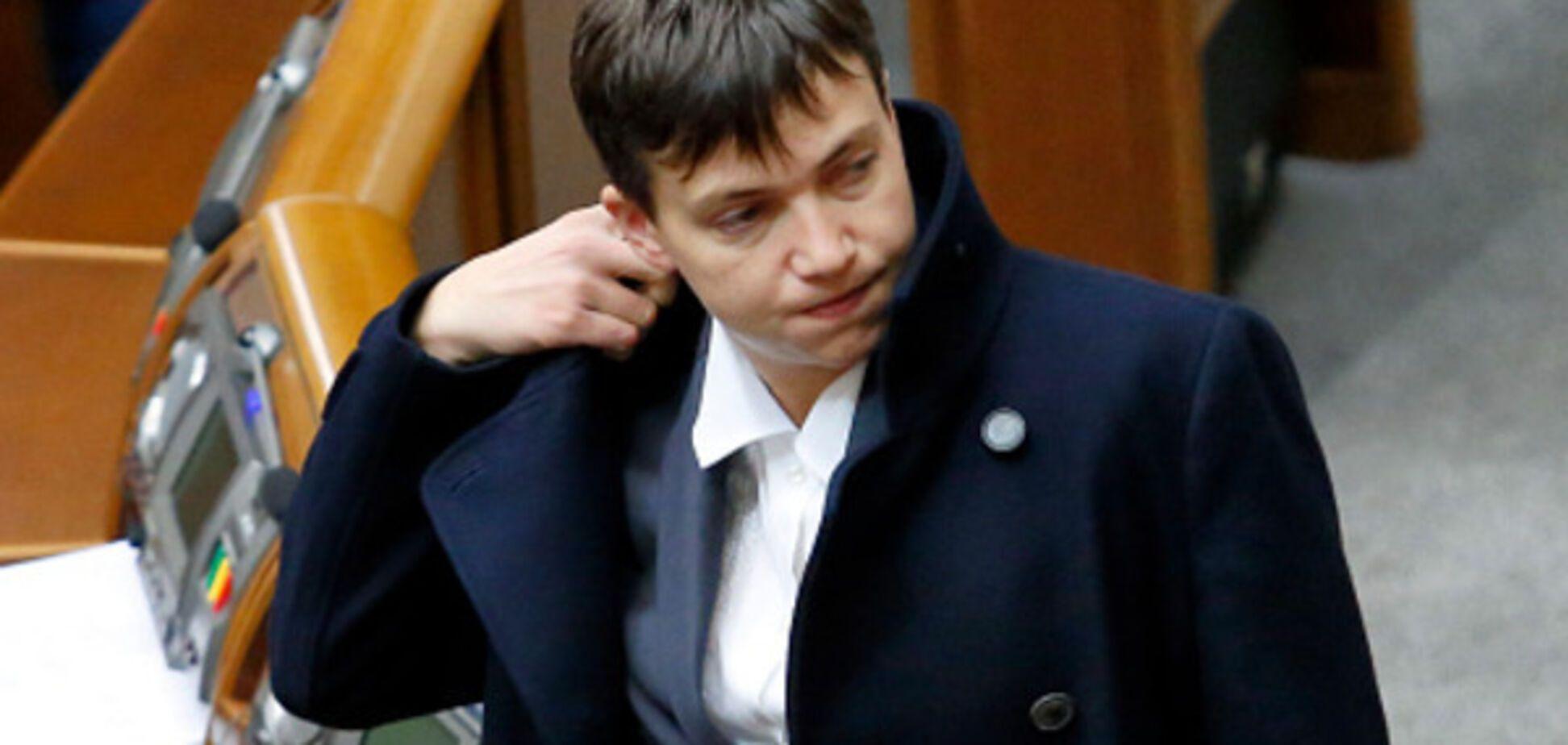 Савченко готова зробити пропозицію президенту