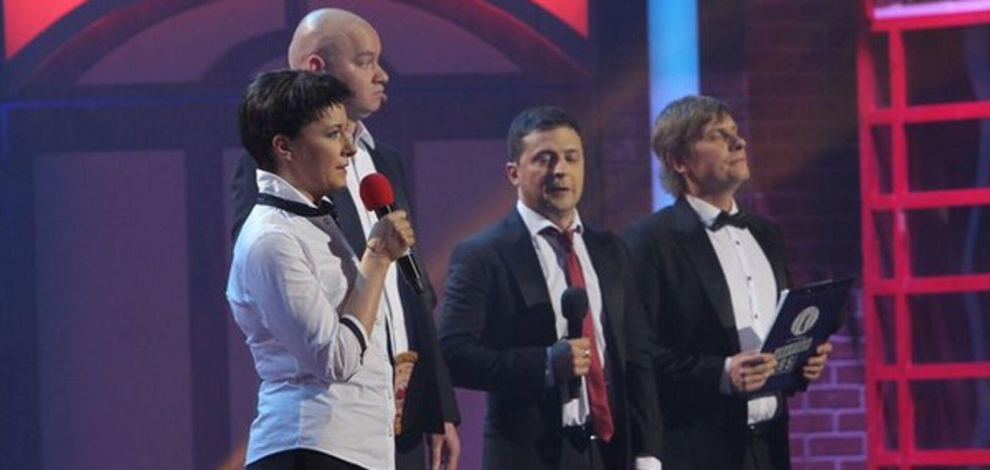 Олена Кравець у ролі Надії Савченко (95 квартал)