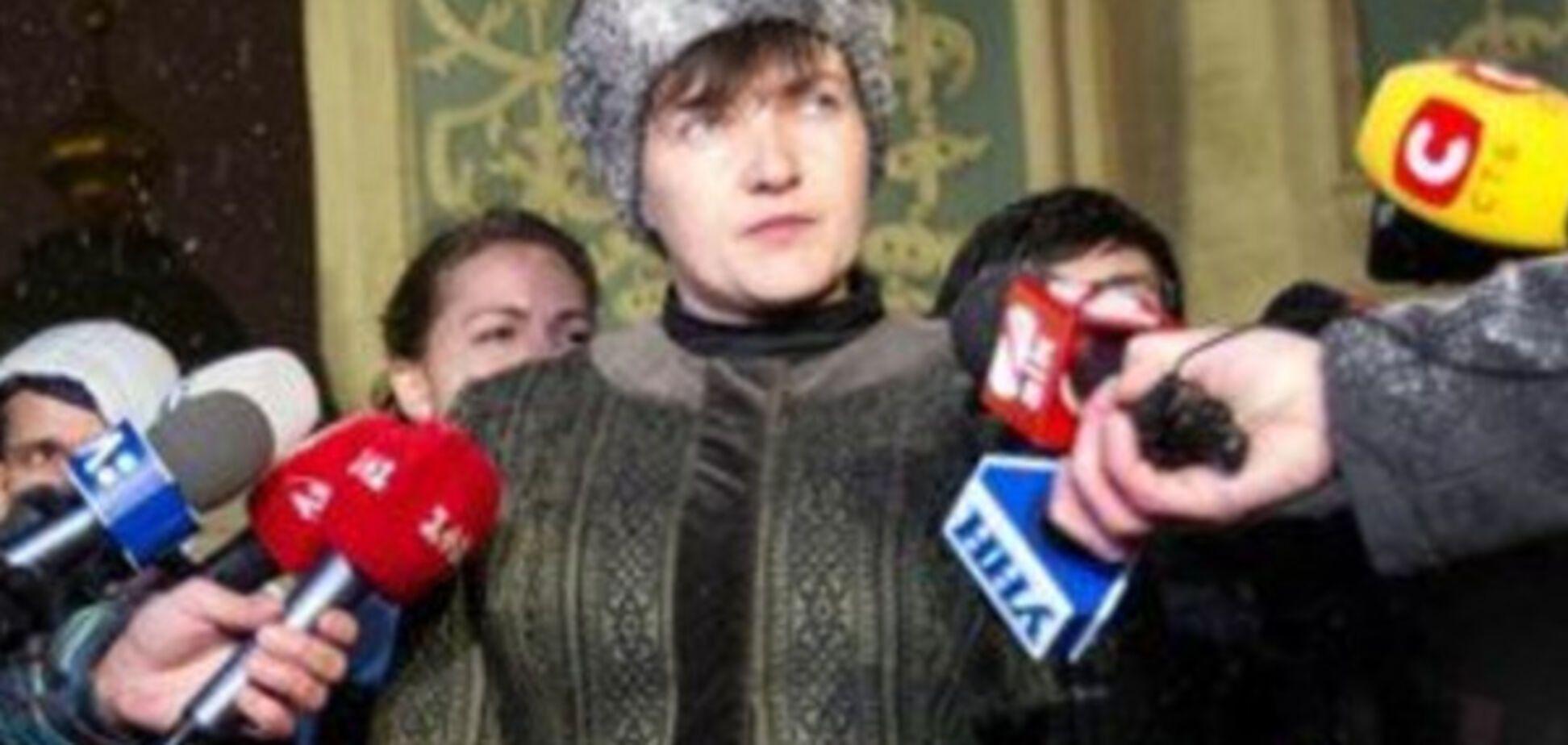 Савченко дали по шапке