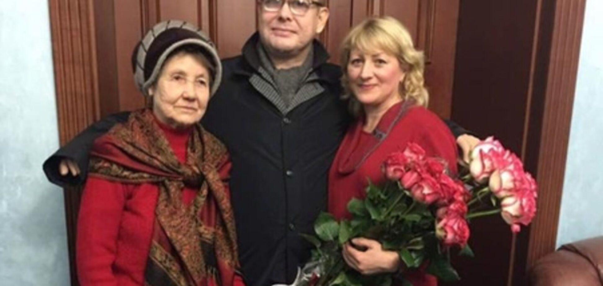 Владимир Жемчугов с родными