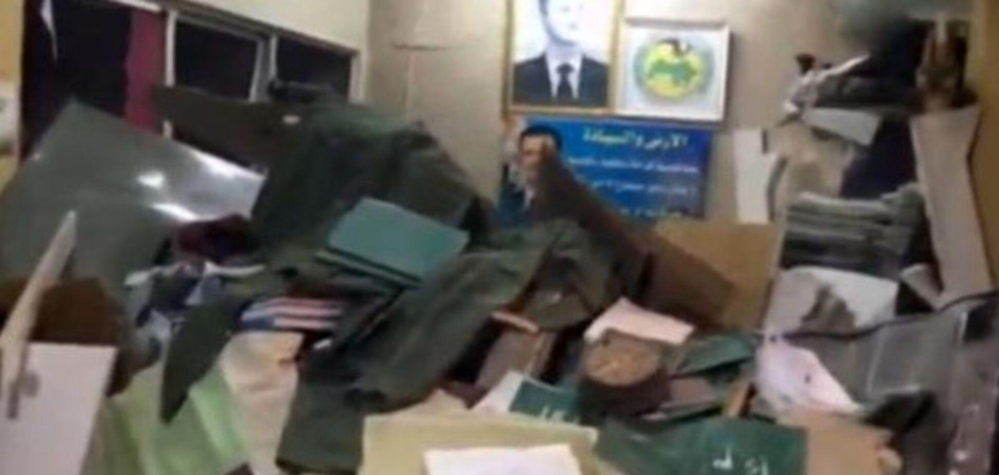 Поліцейська дільниця у Дамаску після теракту
