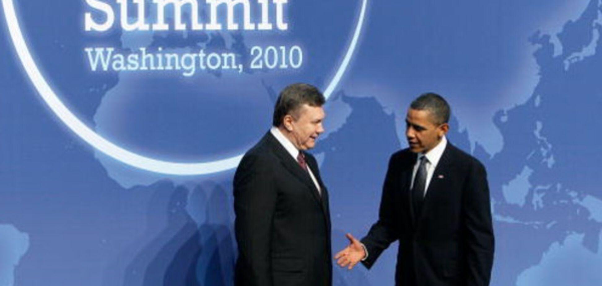 Віктор Янукович і Барак Обама