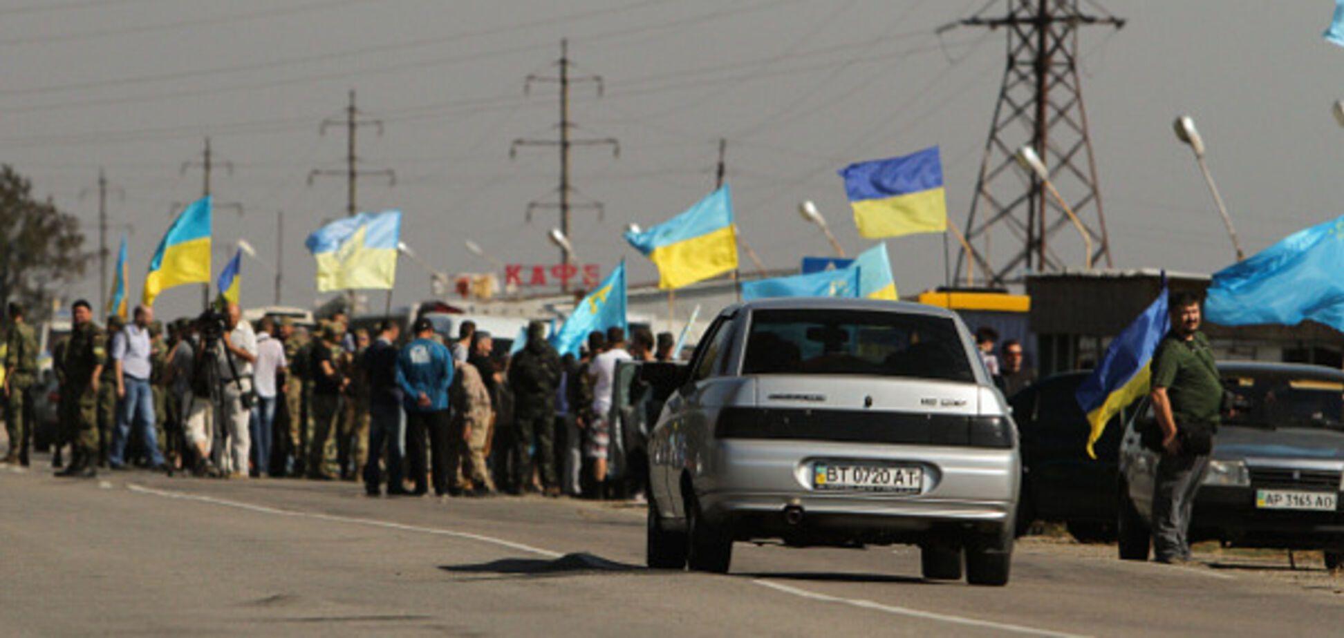 Блокпост в Крыму