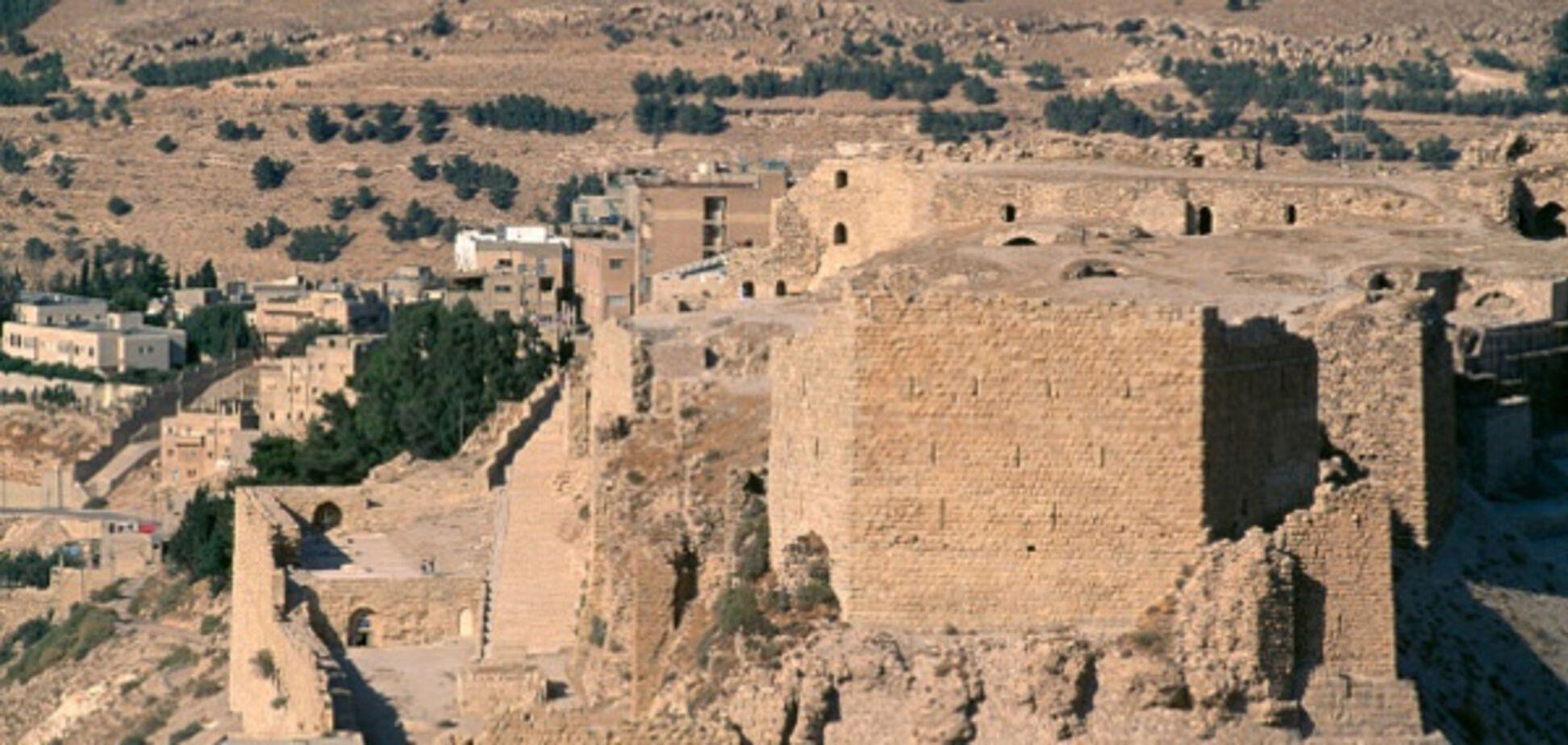 Замок Карак в Иордании