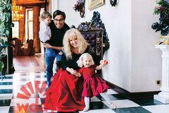 Алла Пугачева с семьей