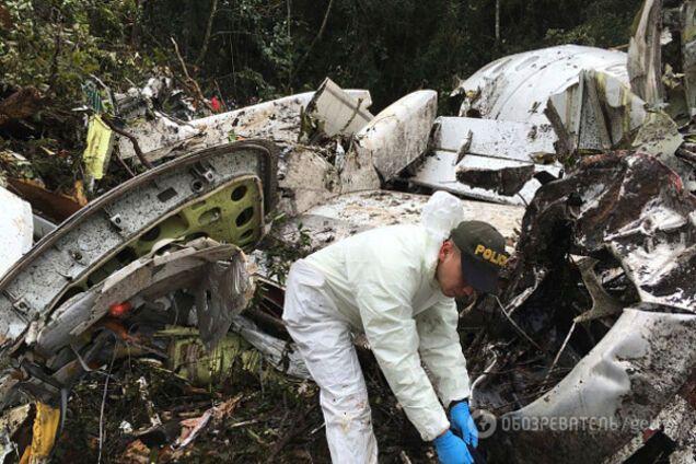 Шапекоенсе авикатастрофа в Колумбиии