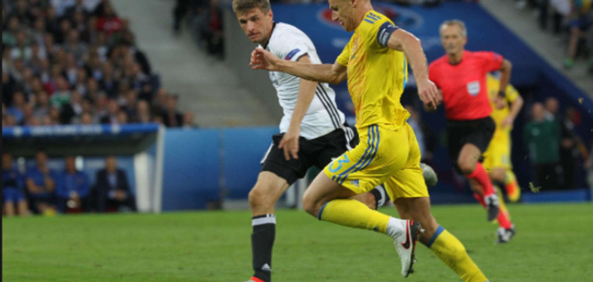 Вячеслав Шевчук сборная Украины