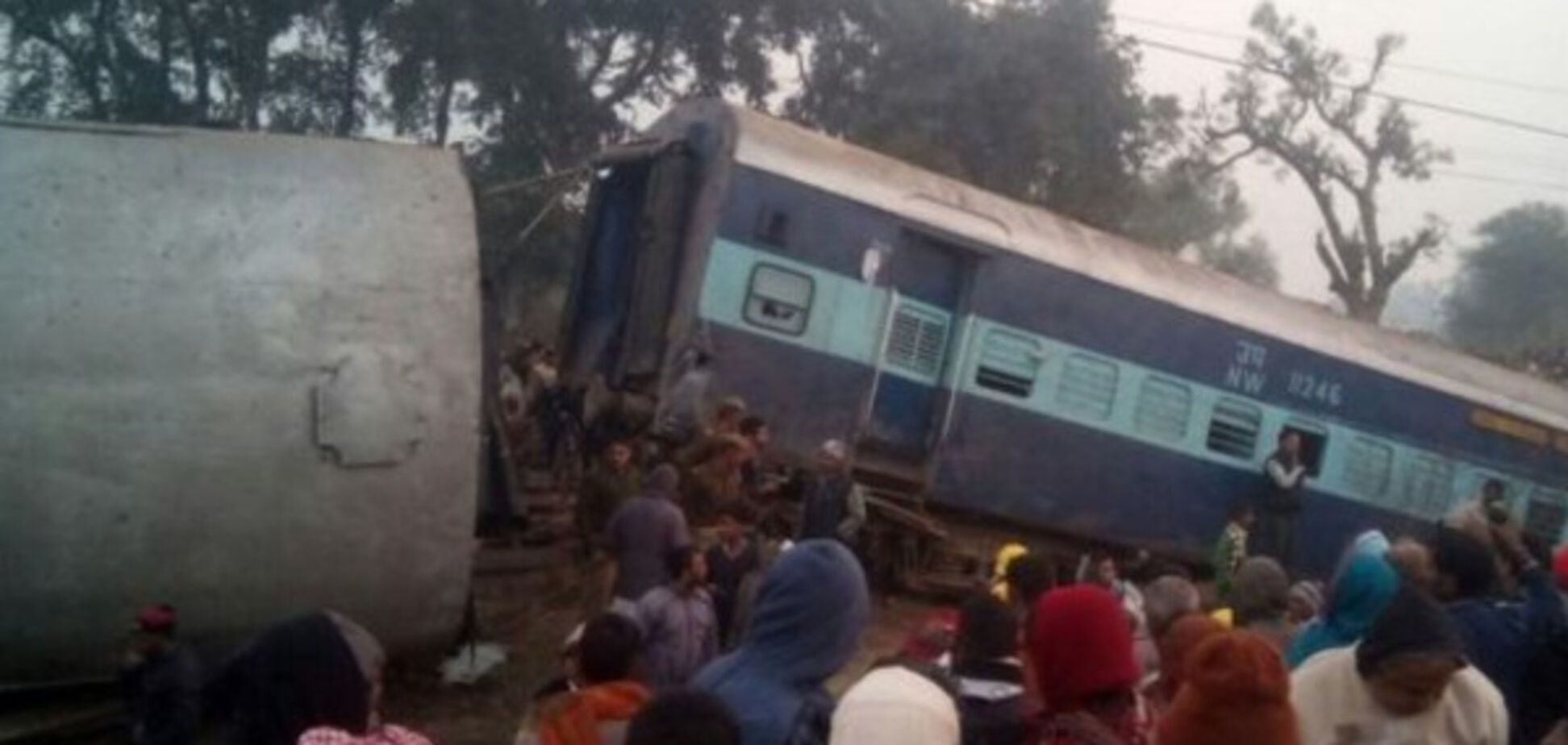 Катастрофа поезда