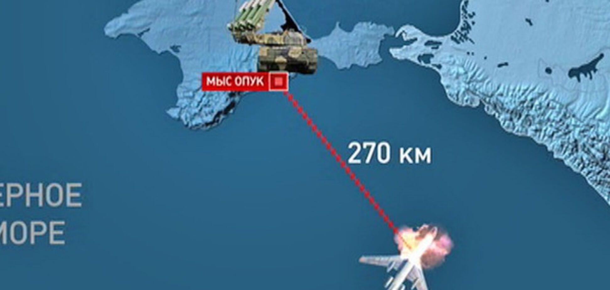 Катастрофа Ту-154 Черное море