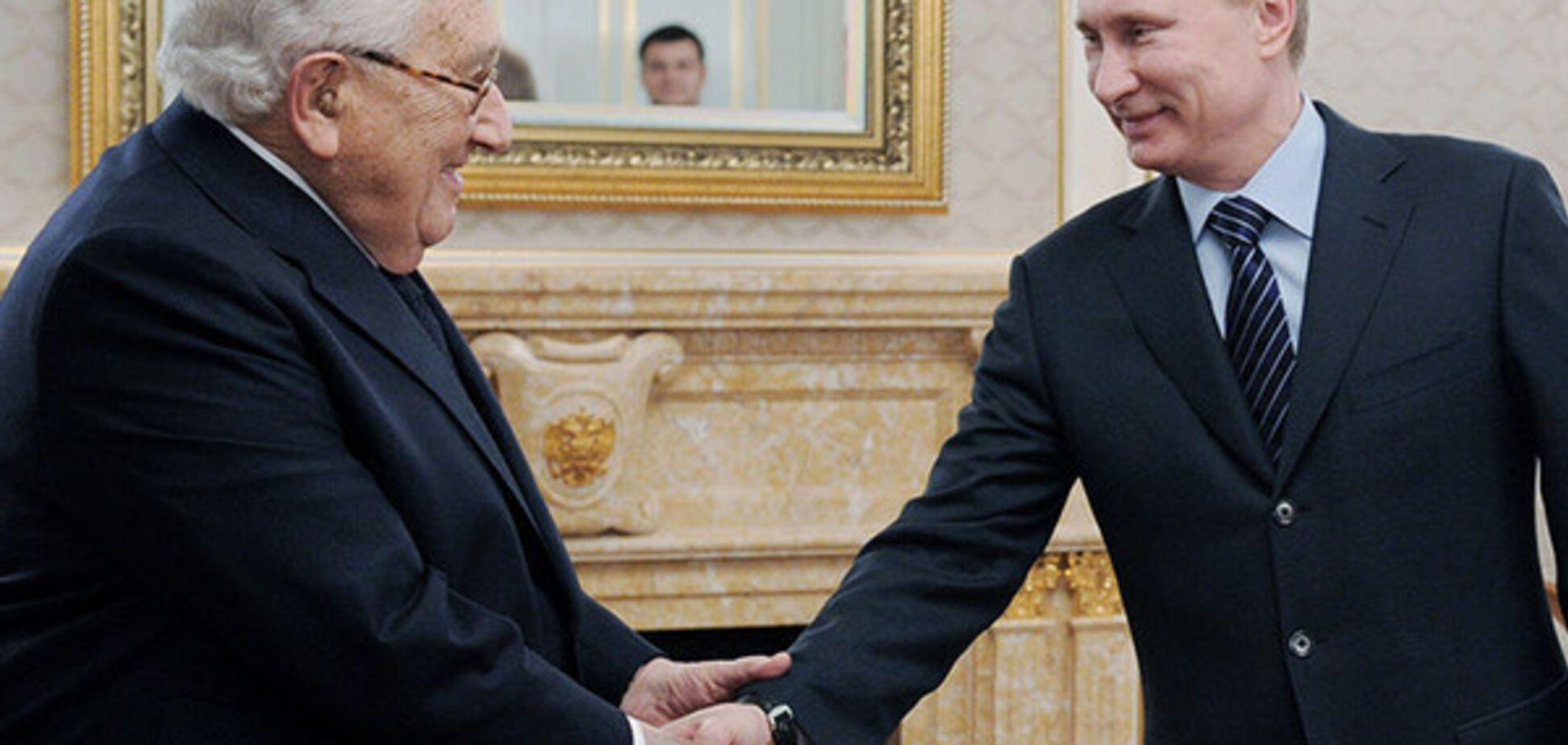 Владимир Путин и Генри Киссинджер