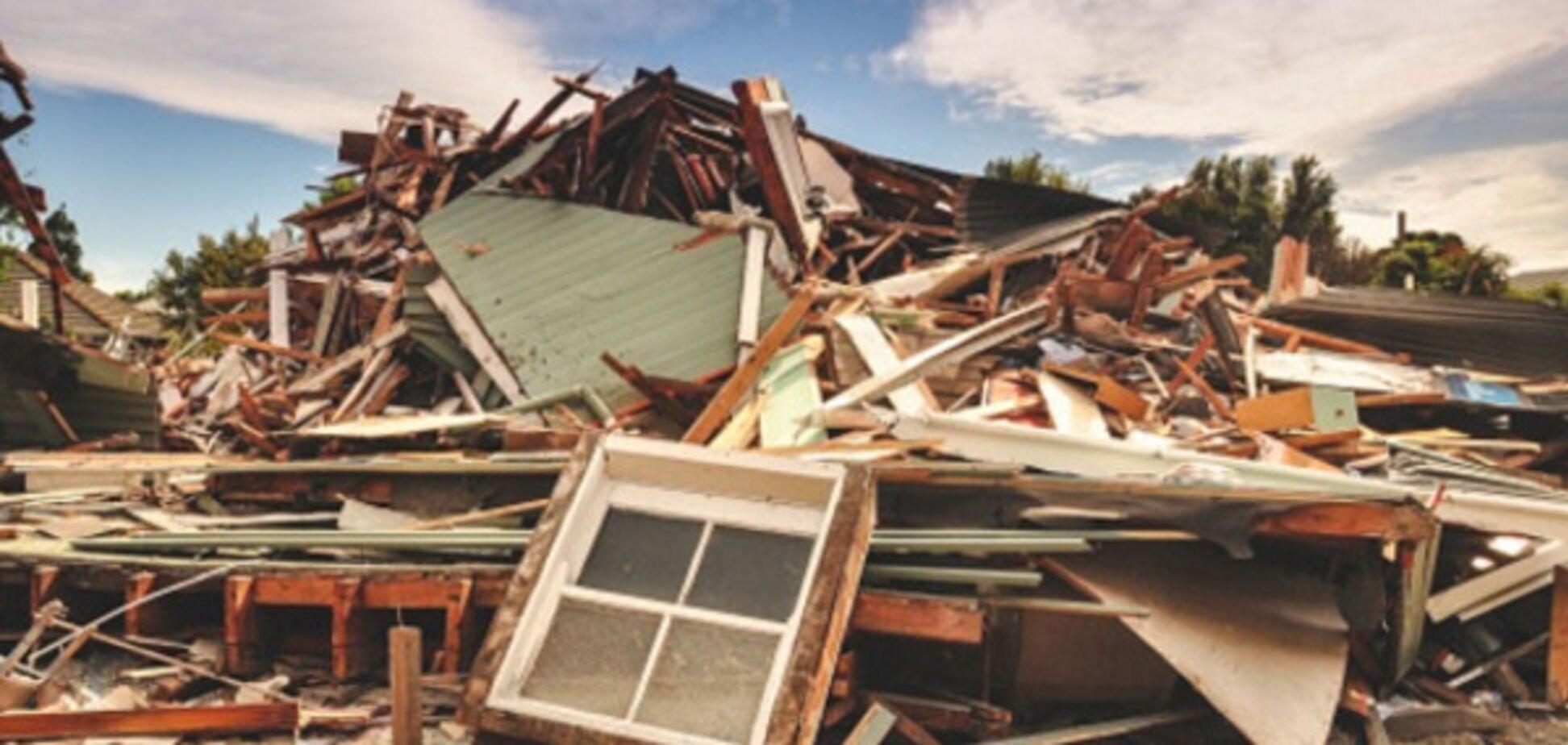 землетрус будинок руйнування