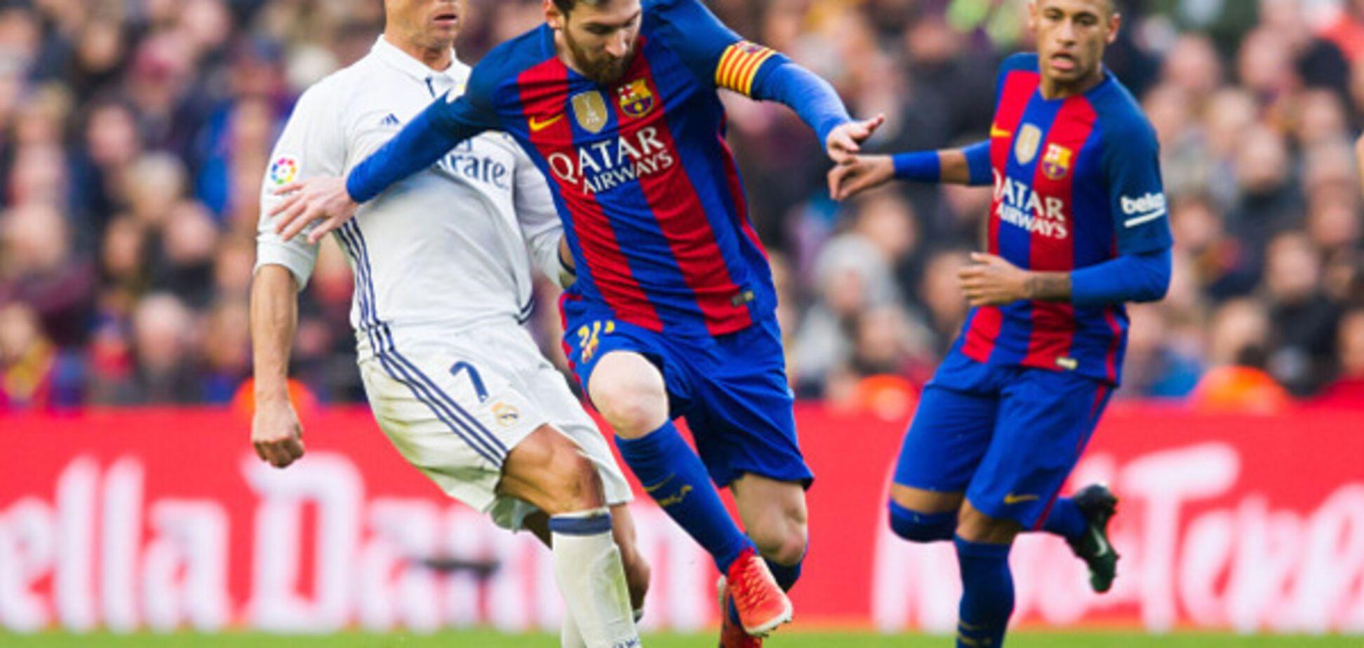 Барселона Реал как сыграли