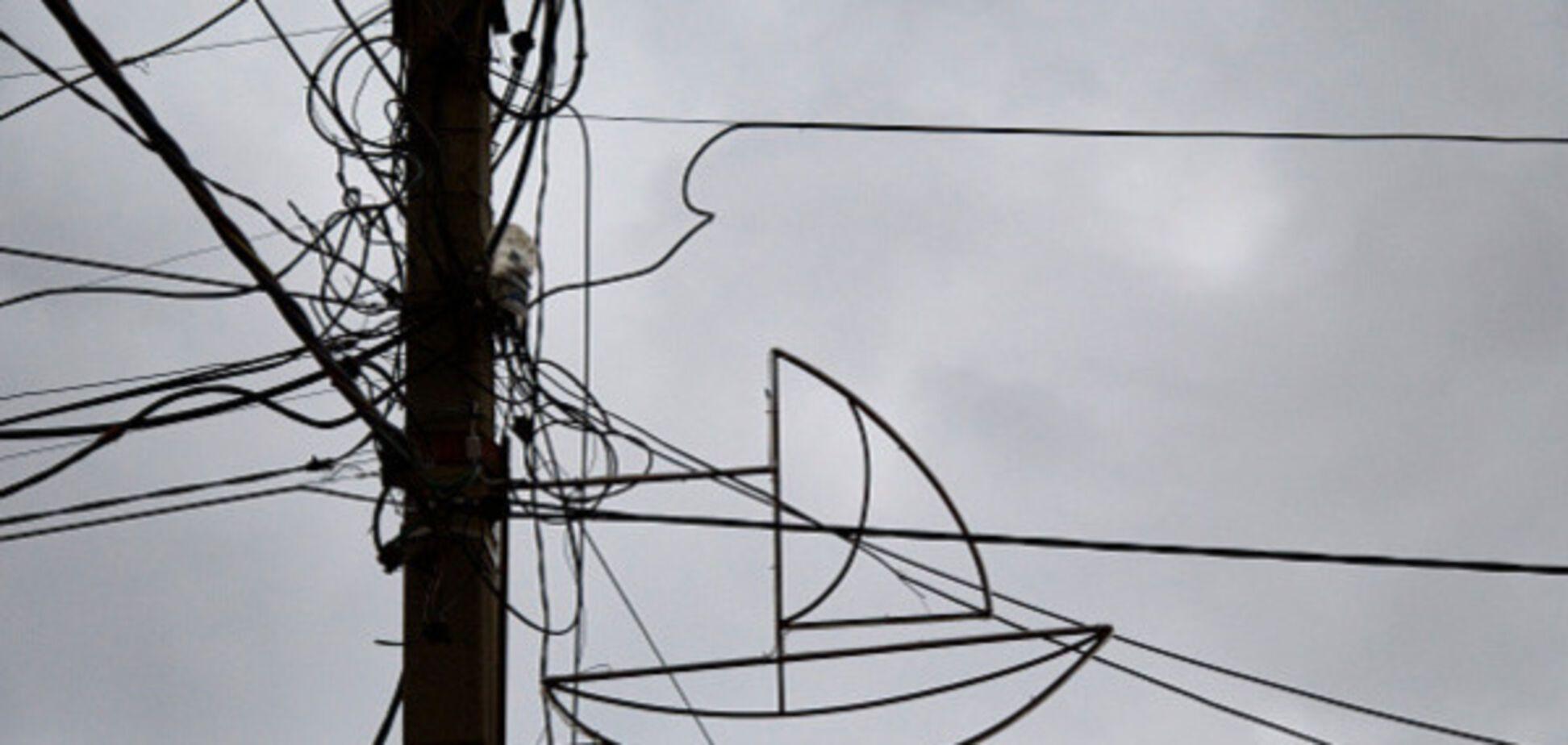 Відключення електрики у Криму