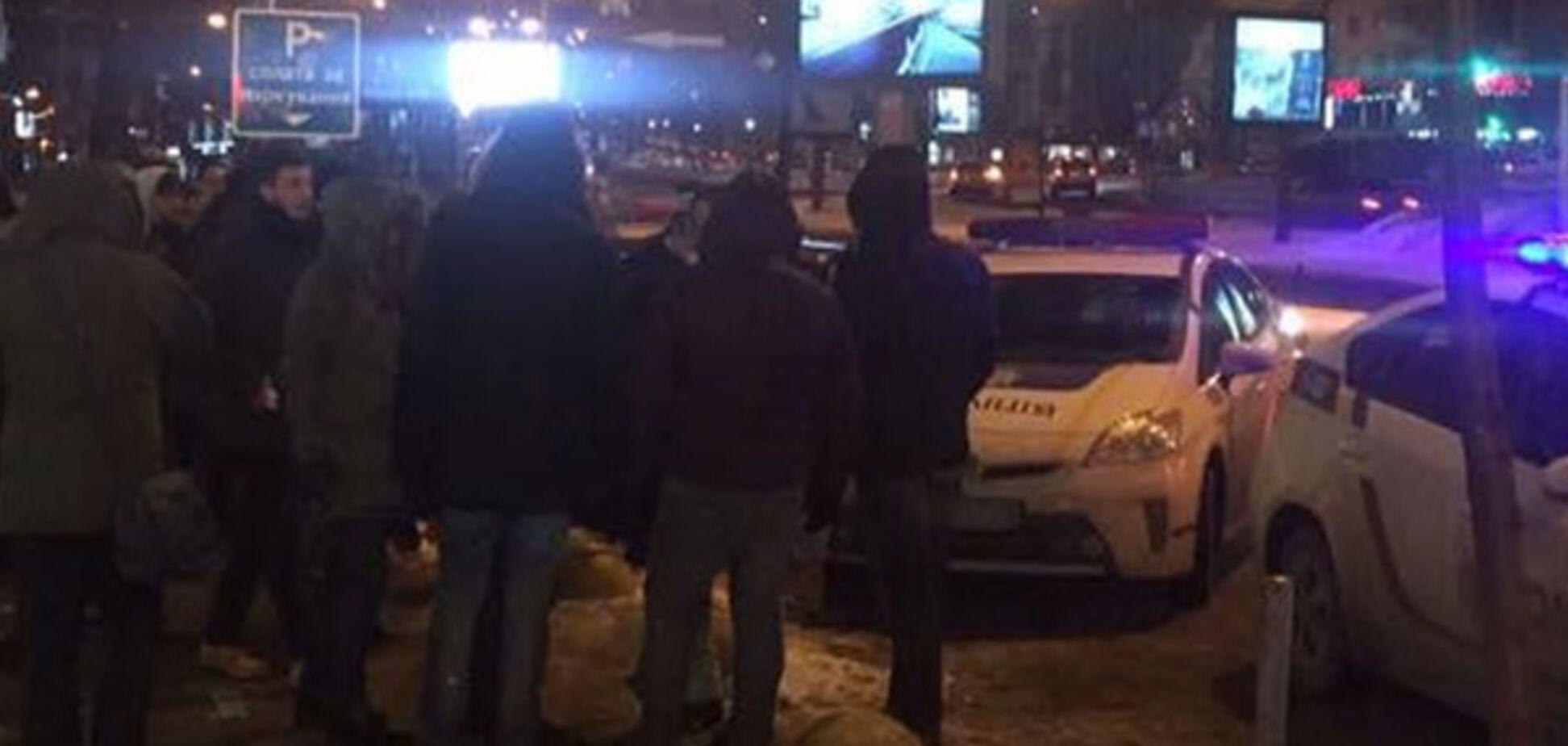 Фанати у Києві