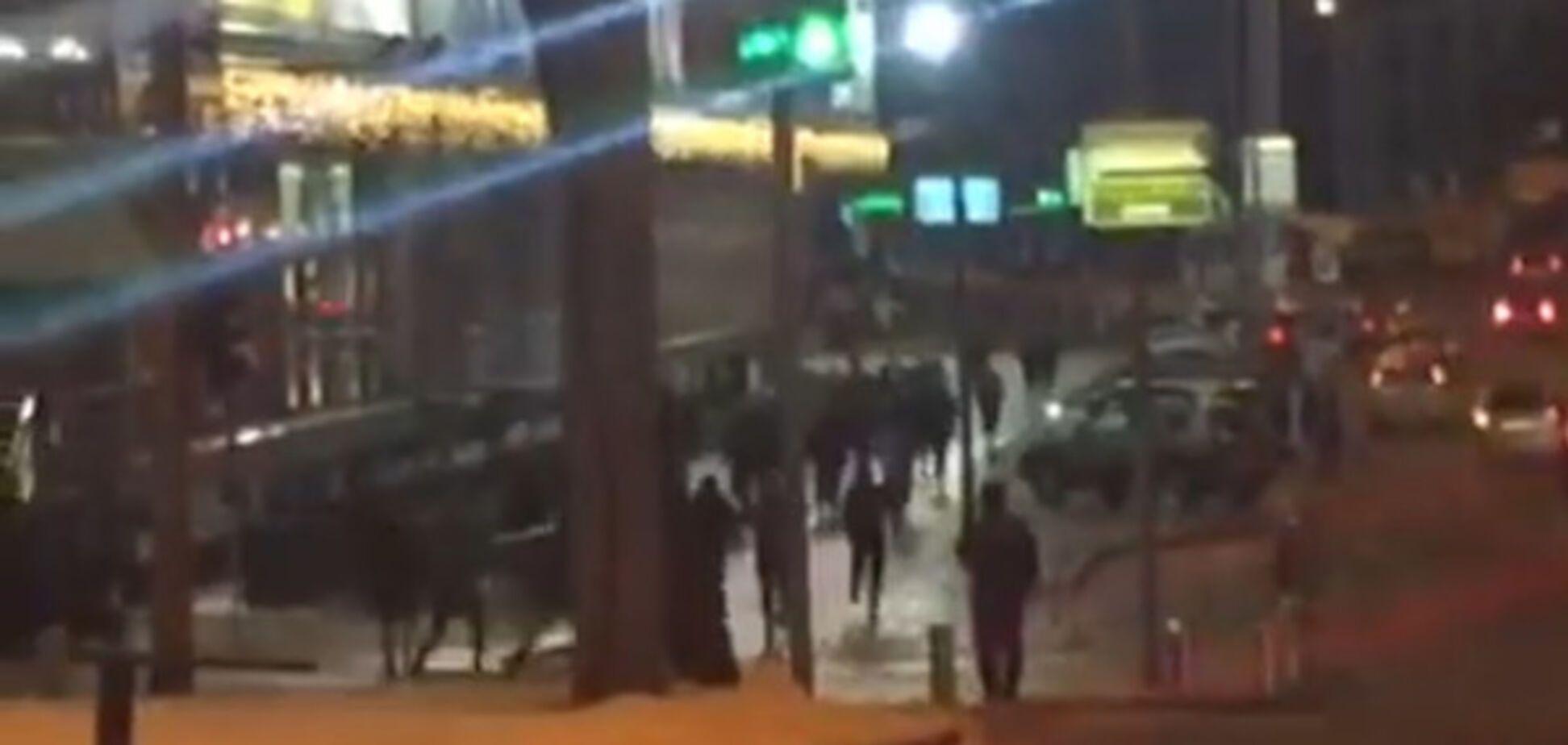 Напад на турецьких фанатів у Києві