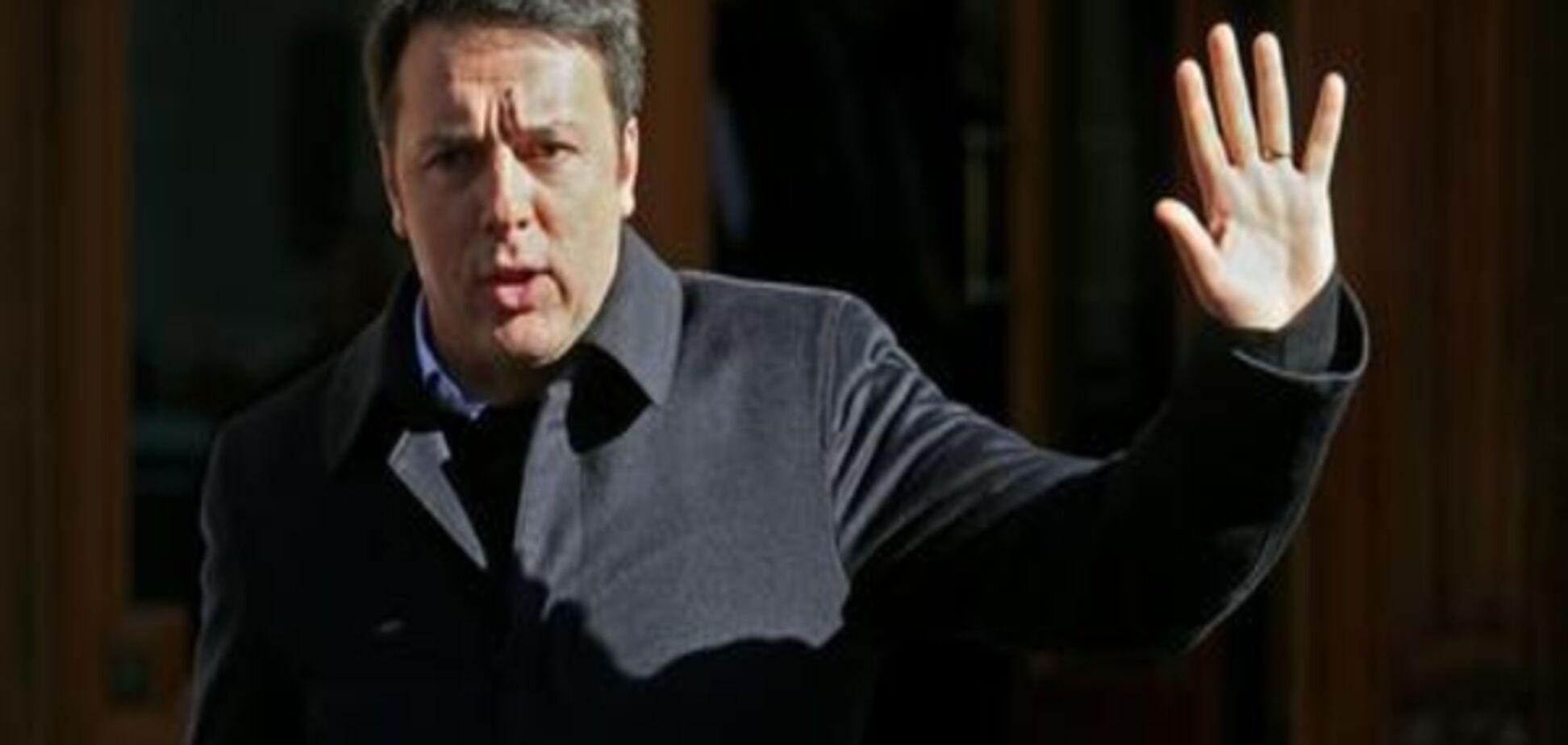 Вибори в Італії: лідер правлячої партії заявив про відставку