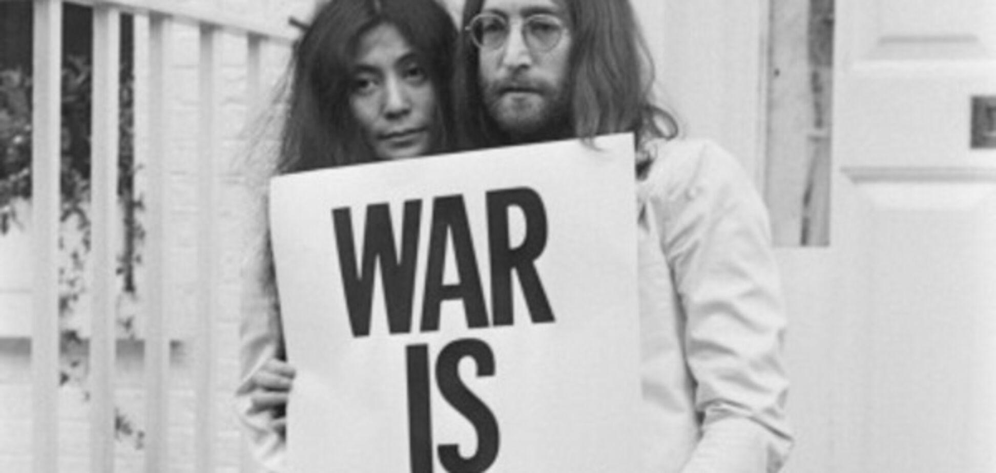 Йоко Оно і Джон Леннон