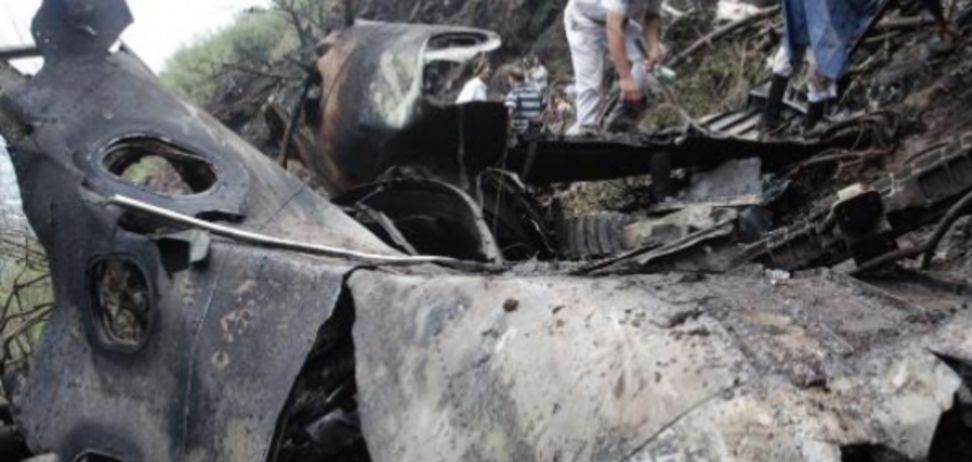 Місце аварії літака в Пакистані