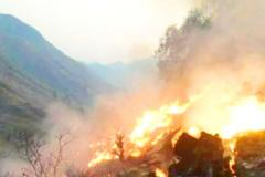 З\u0027явилося перше фото з місця краху літака, що розбився в Пакистані