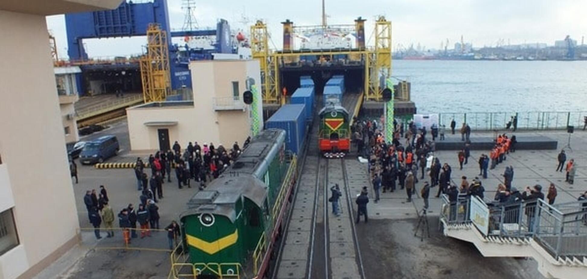 Поезд в обход России: 'потерявшийся' состав достиг конечной точки маршрута