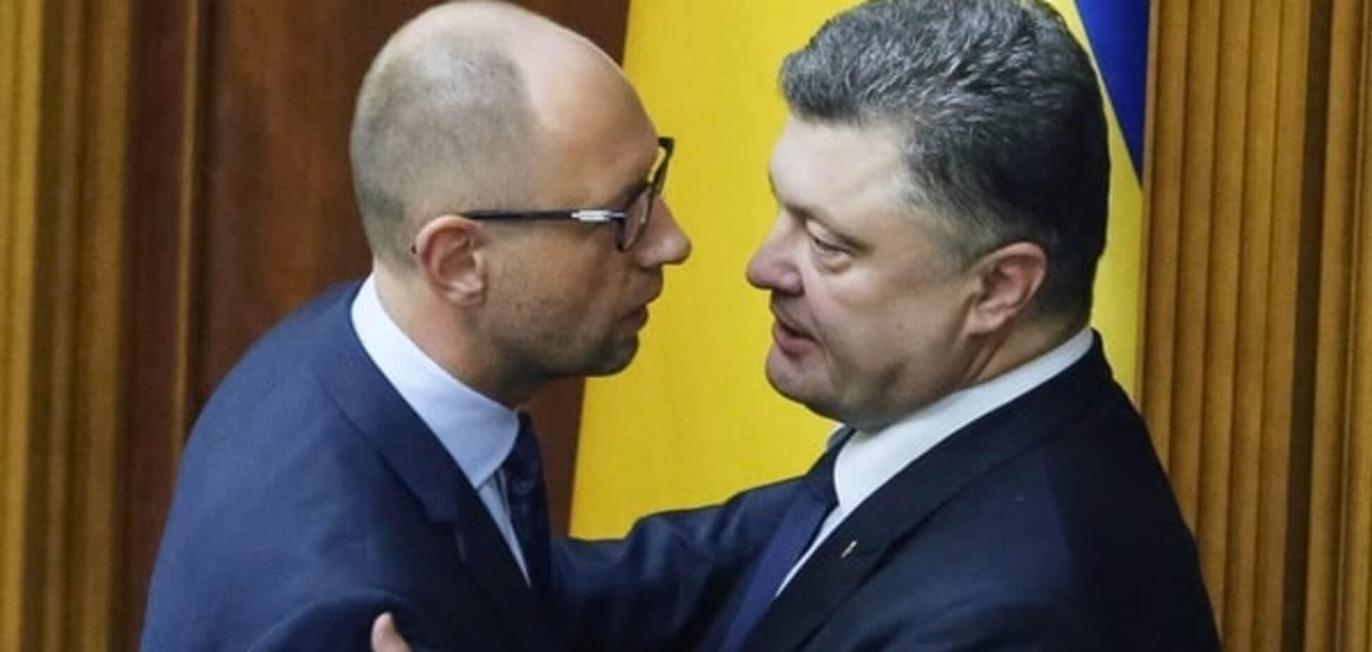 Політичний труп: експерт розповів, чим Яценюк вигідний для Порошенка