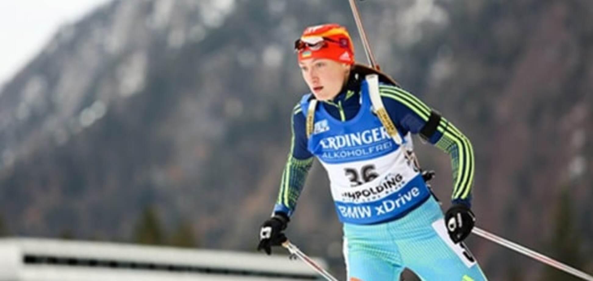 Украинская биатлонистка объяснила проблемы с допингом