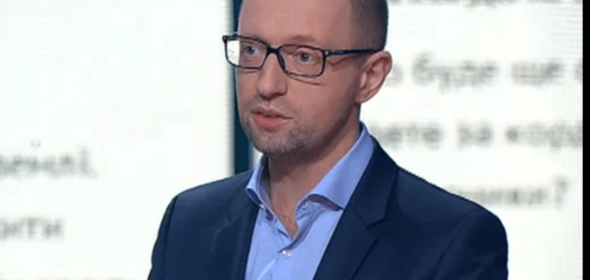 Путь исправления: Яценюк рассказал, почему уже не требует отставки Демчишина