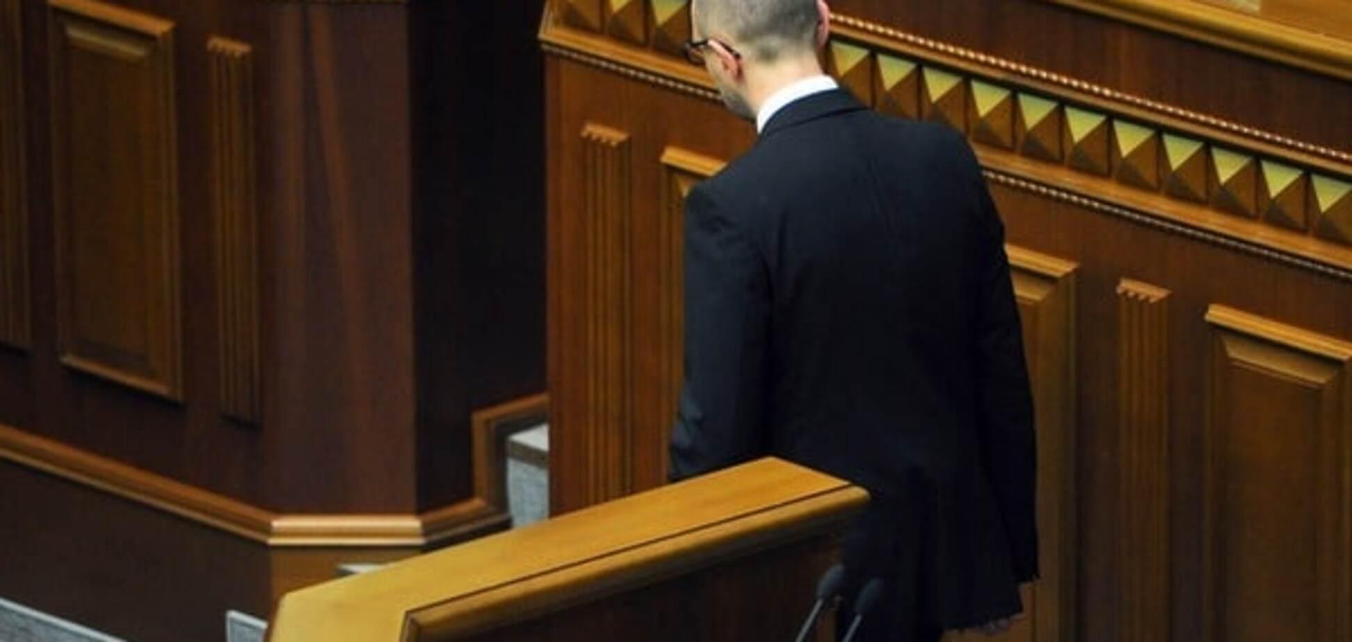 Развал фронта: экс-министр назвал слабое место Яценюка