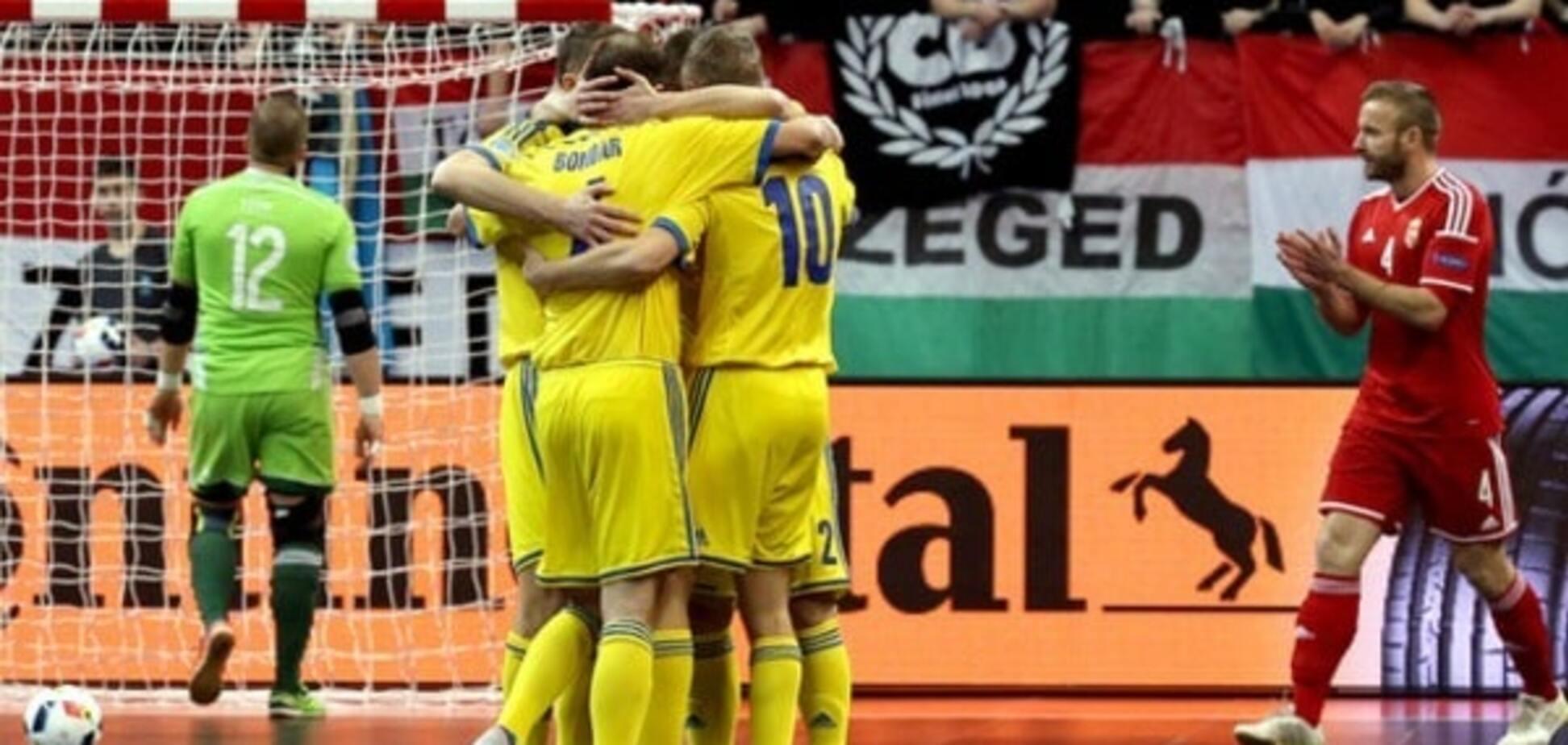 Збірна України з футзалу дізналася суперника в плей-офф ЧС-2016