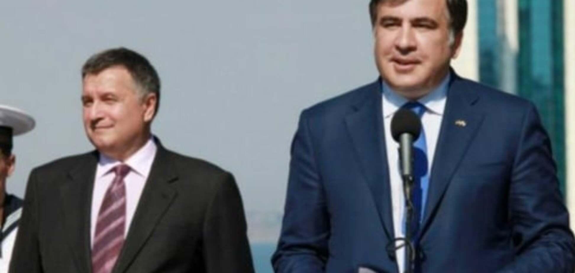 'Политический аферист': Аваков выступил с новыми оскорблениями в адрес Саакашвили