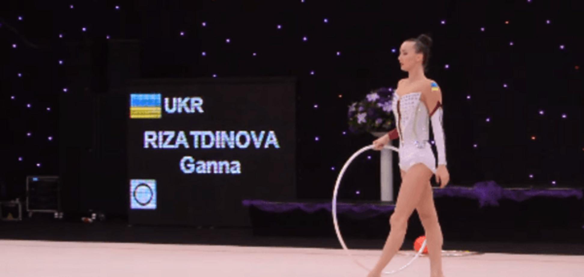 'Україна!' Кримська гімнастка викликала фурор на міжнародному турнірі: відео овацій