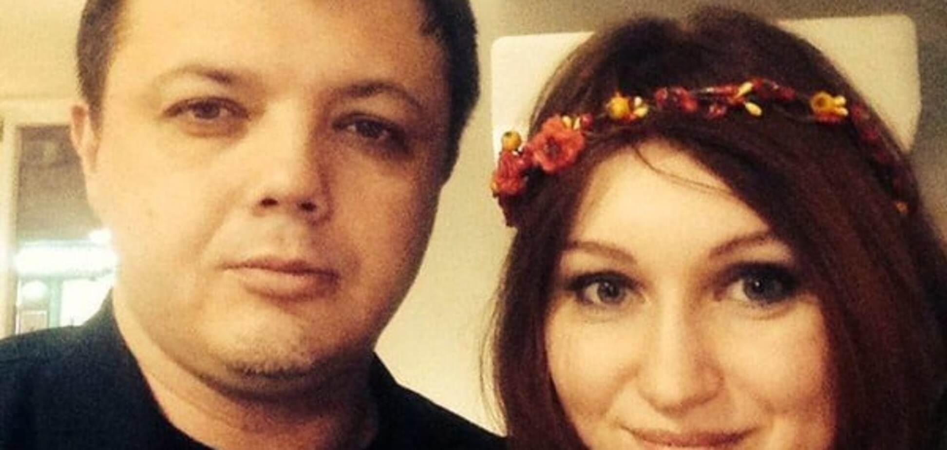 Семенченко показав свою дружину: опубліковано фото