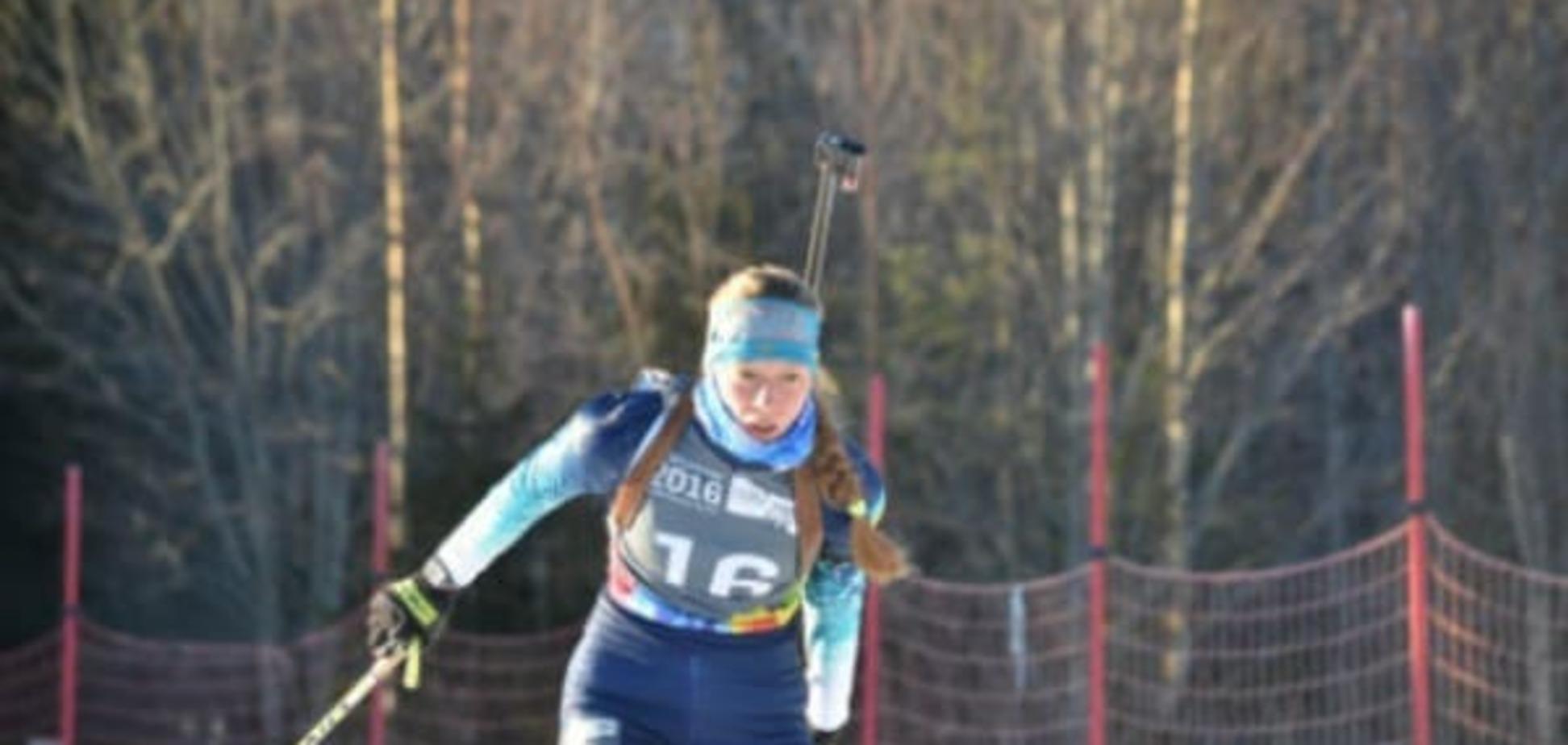 Українська біатлоністка виграла 'золото' Юнацької Олімпіади