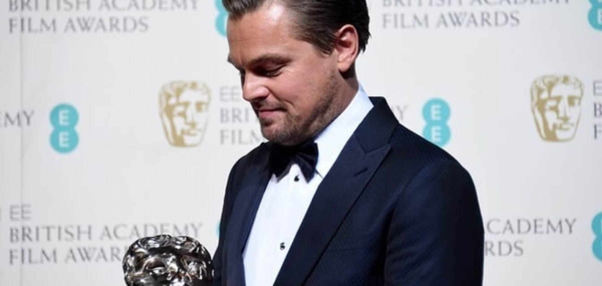 ДіКапріо отримав премію за кращу чоловічу роль