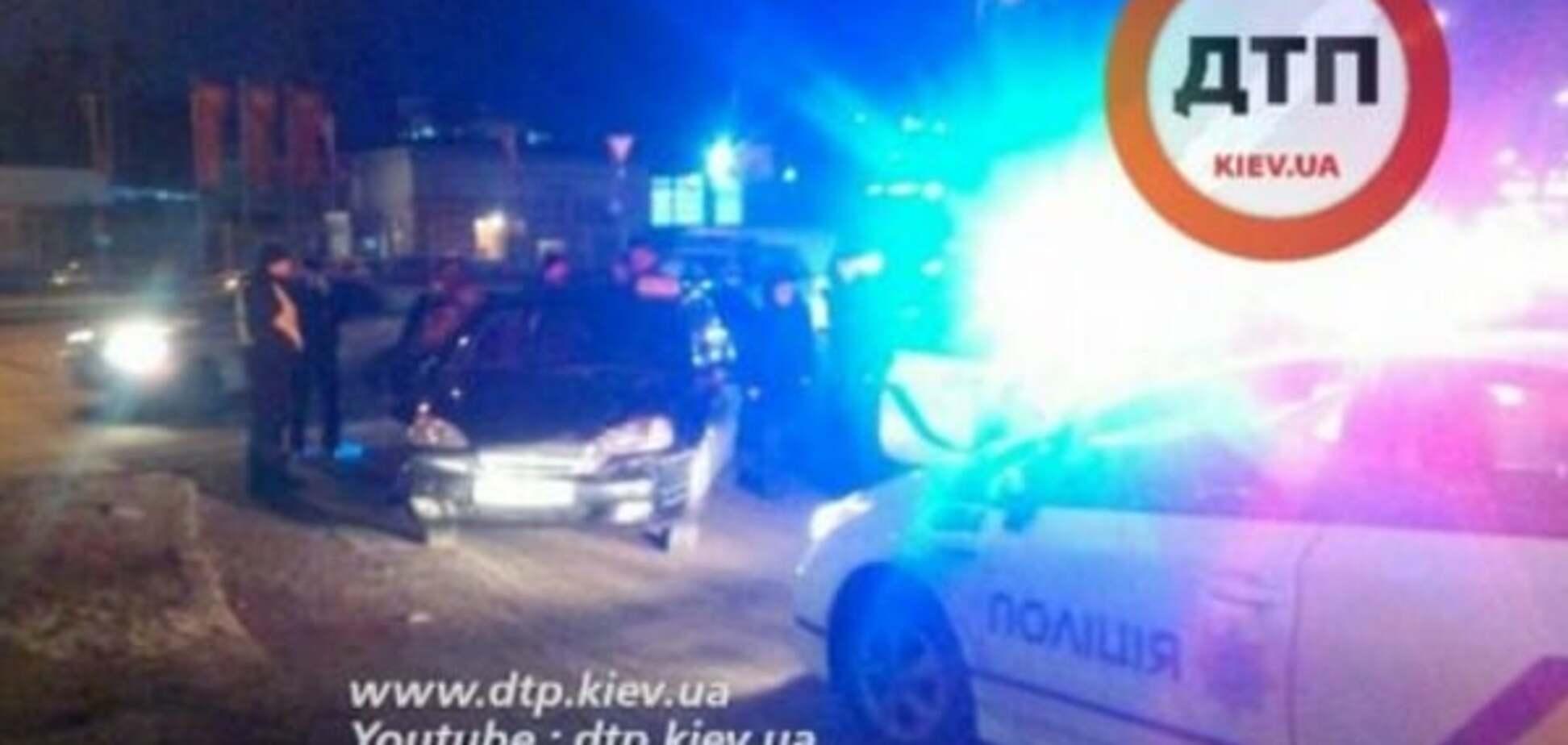 У Києві поліція влаштувала погоню за п'яним військовим на Chevrolet