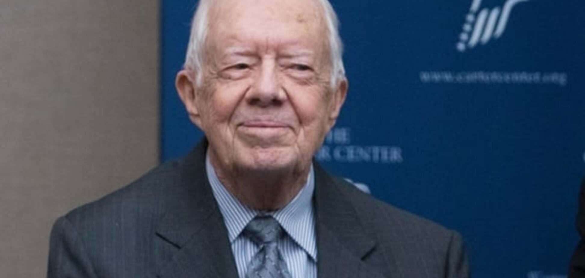 Экс-президент США Джимми Картер получил вторую премию 'Грэмми'